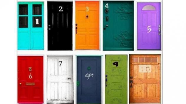 ¿Qué puede decir una puerta sobre ti? Te sorprenderás del resultado...