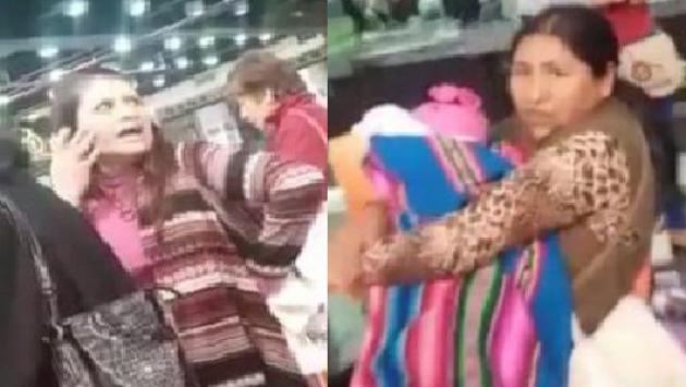 OMG! Acusan a mujer de racista y de pegar a una madre con bebé en brazos