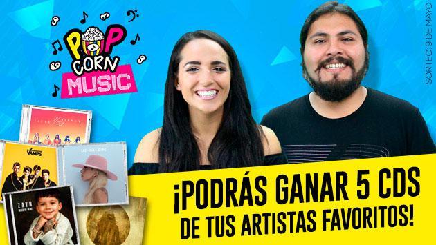 Radio Planeta y 'Pop Corn Music' tienen más CD de tus artistas favoritos para regalar
