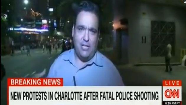 ¡Este reportero se llevó una dolorosa sorpresa en plena transmisión! [VIDEO]
