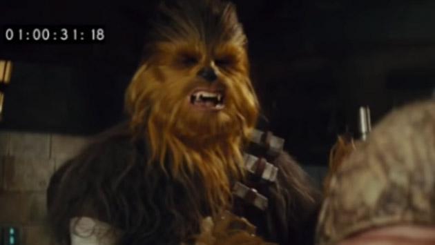 Revelan escena eliminada de 'Star Wars 7' con Chewbacca mutilando a Unkar Plutt [VIDEO]