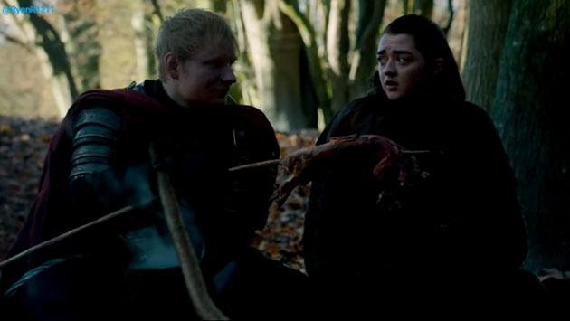 Revive la escena de Ed Sheeran en 'Game of Thrones', en la temporada 7 [VIDEO]