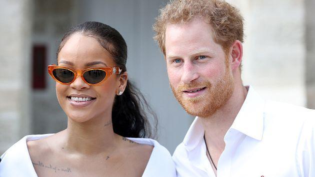 OMG! Así fue el encuentro de Rihanna y el príncipe Harry [FOTOS]