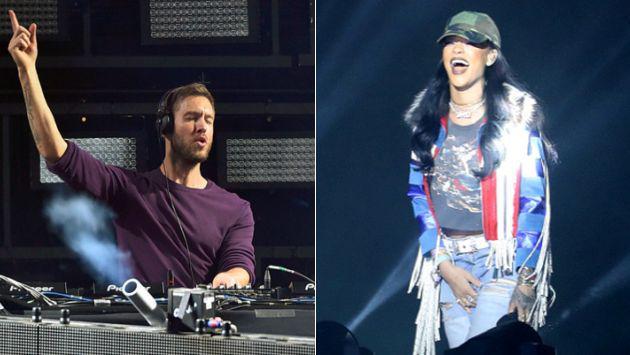 Calvin Harris contó cómo le pidió a Rihanna que colabore con él en su nueva canción