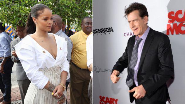 ¿Por qué Charlie Sheen se disculpó con Rihanna? [VIDEO + FOTO]