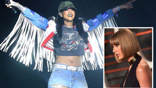 Taylor Swift enloqueció al ver la presentación de Rihanna y Calvin Harris en el Coachella [FOTO + VIDEO]