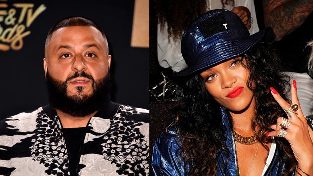 OMG! Sorprenden a Rihanna y Dj Khaled grabando video en Miami [FOTO]