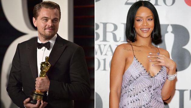 ¿Rihanna se reencontró con Leonardo DiCaprio luego del Oscar?