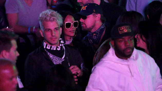 ¡Rihanna y Leonardo DiCaprio fueron ampayados juntos en Coachella!
