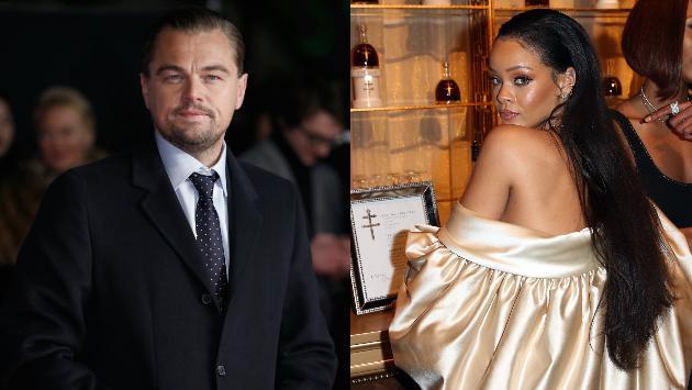 Rihanna la pasa bien en París junto a Leonardo DiCaprio