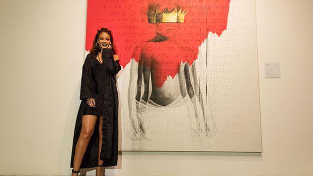 ¡Rihanna reveló la portada y el nombre de su próximo disco! [FOTOS]