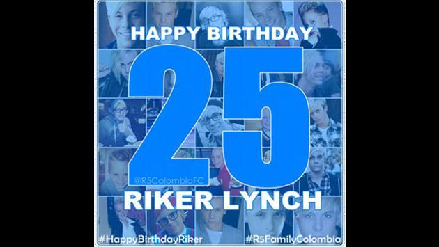 Riker Lynch de R5 está de cumpleaños y fans lo celebran así [FOTOS]