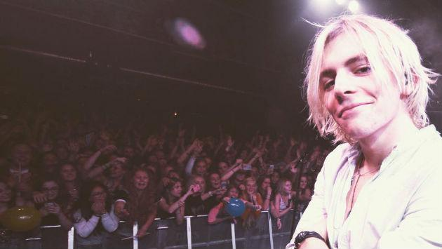 ¡Ross Lynch de R5 celebró su cumpleaños dando un concierto en Las Vegas!