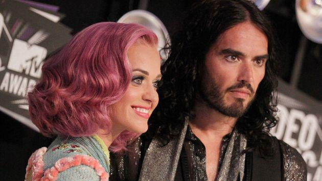 ¿Russell Brand no puede olvidar a Katy Perry?