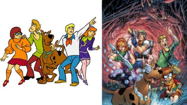 ¡¿Scooby Doo, qué te pasó?! Así lucirá el personaje de Hanna-Barbera en cómics