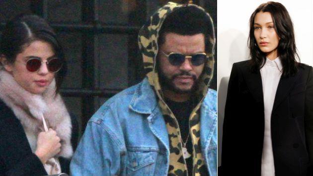 OMG! ¡Selena Gomez y The Weeknd casi sufren percance con Bella Hadid!