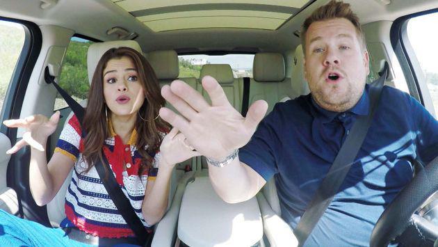Selena Gomez mostró por qué es la mejor amiga de Taylor Swift en el 'Carpool Karaoke' [VIDEO]