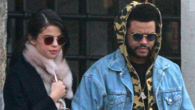 Selena Gomez y The Weeknd muy cariñosos en cena romántica [VIDEO]