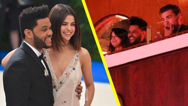 Selena Gomez, más feliz que nunca al lado de The Weeknd