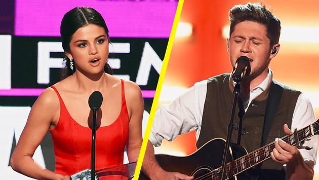 """Selena Gomez y el mensaje de """"amor"""" que recibió de Niall Horan"""