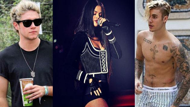 ¿Selena Gomez ya decidió entre Niall Horan y Justin Bieber?