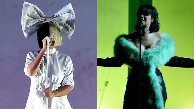 ¡Esta imitación de Rihanna y Sia está dando de qué hablar! [VIDEO]