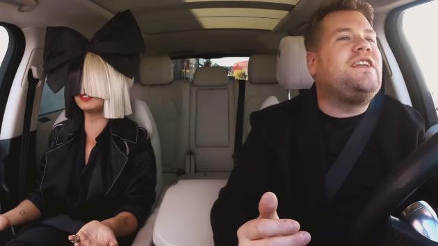 ¡Checa la sesión de Sia en Carpool Karaoke de James Corden! [VIDEO]