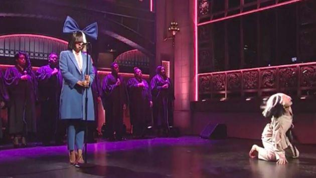 Sia hizo increíble interpretación de 'Alive' y 'Bird Set Free' [VIDEO]