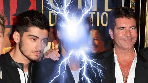 Simon Cowell ya se enteró de lo que Zayn Malik hará contra One Direction y esta fue su reacción