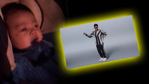 Solo la música de Bruno Mars puede calmar a este bebé [VIDEO]