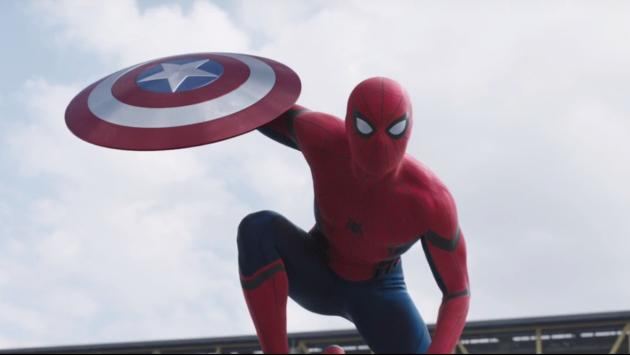 ¡¡¡Spider-Man en el segundo tráiler de Civil War!!!