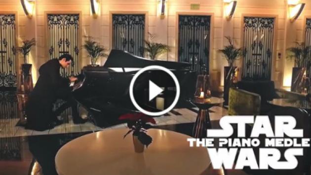 'Star Wars': Cover en piano de los principales temas de la saga son furor en Facebook