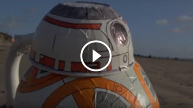 ¿Cómo se filmaría Star Wars con un bajo presupuesto? [VIDEO]
