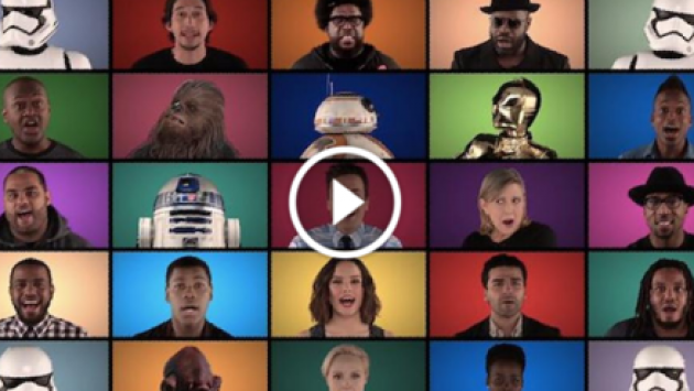 Jimmy Fallon y el reparto de 'Star Wars, The Force Awakens' interpretaron temas de la saga [VIDEO]