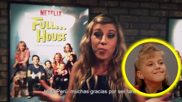 'Stephanie Tanner' de 'Fuller House' manda saludos para Perú [VIDEO]