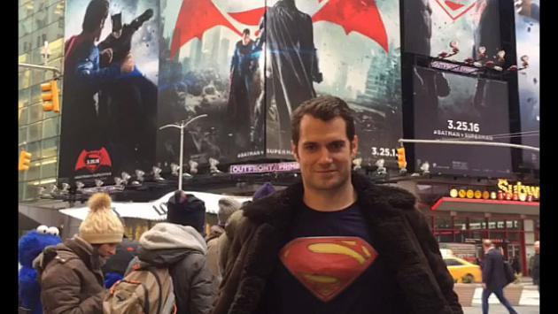 ¡OMG! ¡Actor que interpreta a 'Superman' salió a las calles de Nueva York y nadie se dio cuenta!