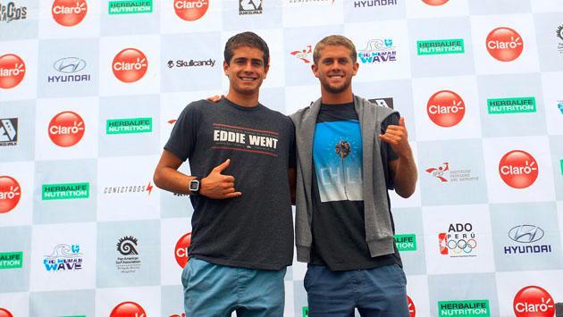 Surfistas peruanos se impusieron en Open Varones y avanzan en los Juegos Panamericanos de Surf Claro Open 2016