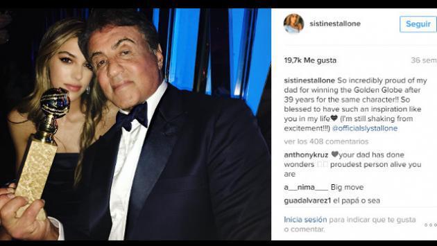 Hija de Sylvester Stallone ya tiene 18 años y no creerás cómo luce ahora [FOTOS]