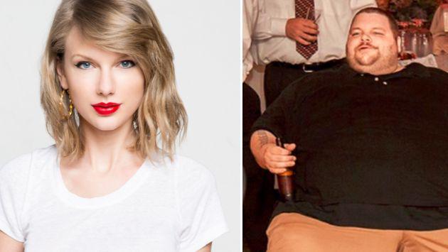 Taylor Swift ayudó a este hombre a bajar 200 kilos [VIDEO]