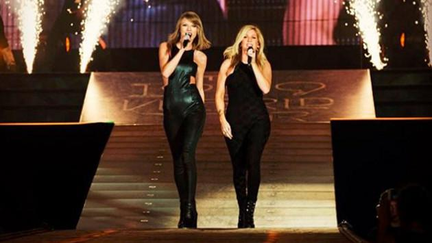 Taylor Swift y Ellie Goulding cantan 'Love Me Like You Do' en concierto [VIDEO]