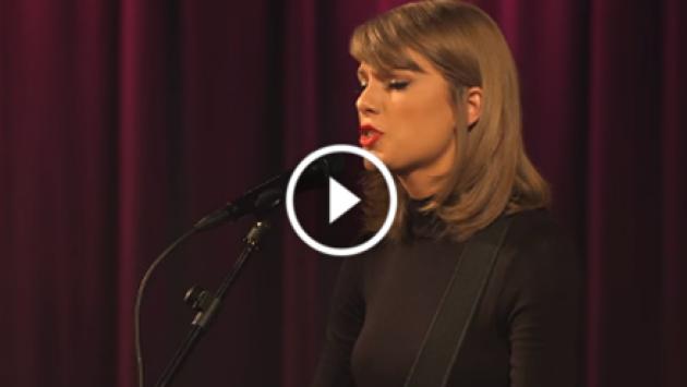 Así fue la presentación íntima de Taylor Swift en The GRAMMY Museum [VIDEO]