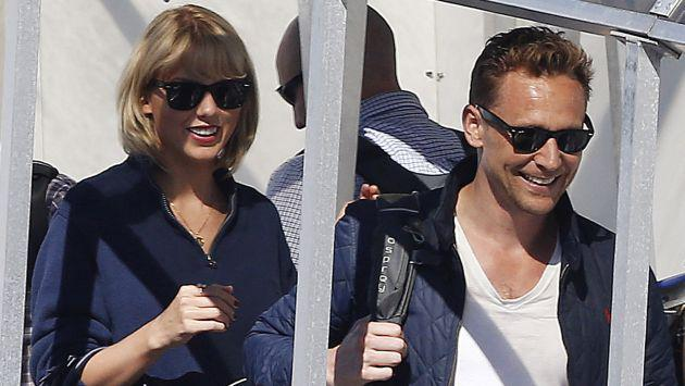 ¡Taylor Swift va a buscar a Tom Hiddleston en su jet privado!