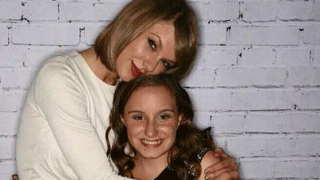 Taylor Swift cumplió el sueño de una fan de 12 años
