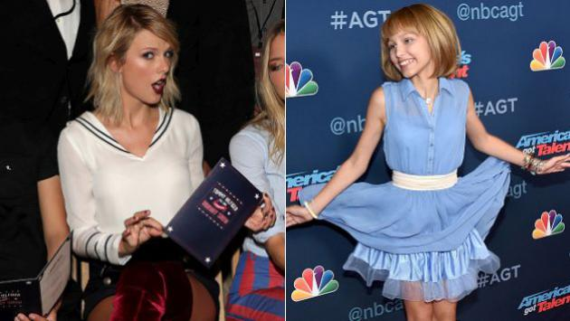 ¡Grace VanderWaal, la 'nueva Taylor Swift', recibió este regalo de la cantante! [VIDEO]