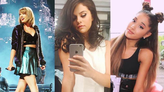 Taylor Swift, Ariana Grande, selena gomez  y más: Conoce las 5 cuentas de Instagram con más seguidores.