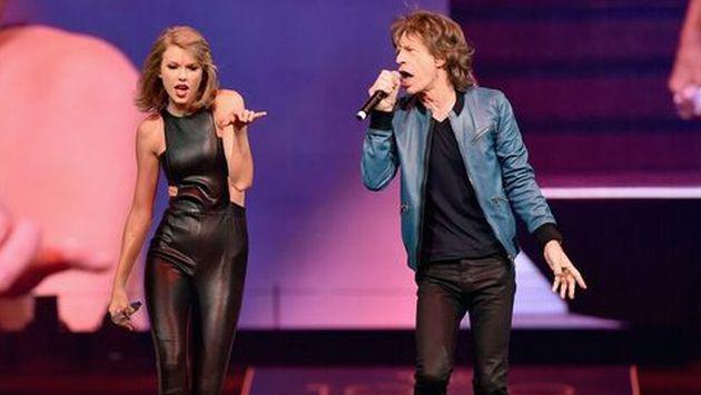 ¿Cómo consiguió Taylor Swift que Mick Jagger actuara con ella en concierto?