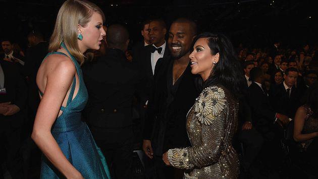 Taylor Swift no se quedó callada y así respondió al 'ataque' de Kim Kardashian [FOTO]