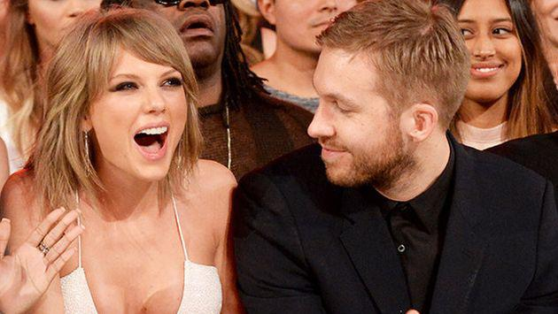 ¡Taylor Swift y Calvin Harris presumen su amor! [FOTOS]