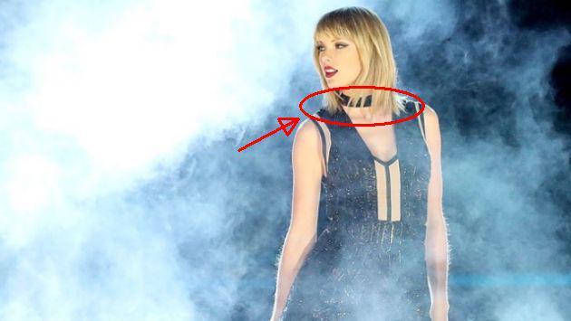 ¡Esta es la insólita teoría sobre Taylor Swift luego de que usara una gargantilla! [FOTOS]