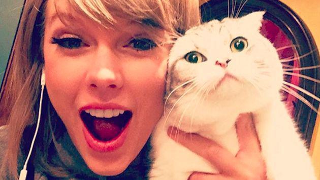 Taylor Swift tiene cinco de las 10 fotos con más 'likes' en 2105 en Instagram